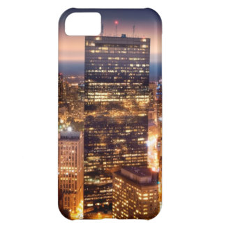 Overview of Boston at night iPhone 5C Cover