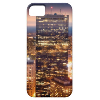 Overview of Boston at night iPhone SE/5/5s Case
