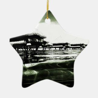 Overwater Bungalow Ceramic Ornament