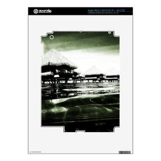Overwater Bungalow iPad 3 Skins
