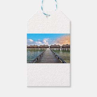 Overwater Bungalows Gift Tags
