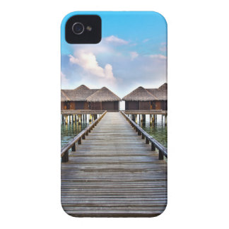 Overwater Bungalows iPhone 4 Case