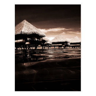 Overwater Bungalows Postcard