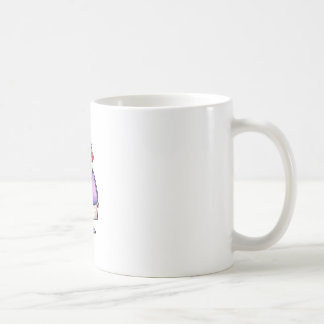 Overweight Woman Coffee Mugs