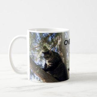overwhelmed - just breathe mug
