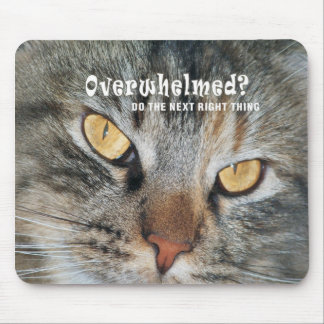 overwhelmed Nellie Mouse Pad