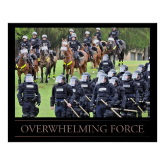 Overwhelming Force Poster