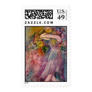 """""""Overwhelming Love"""" Postage Stamp"""