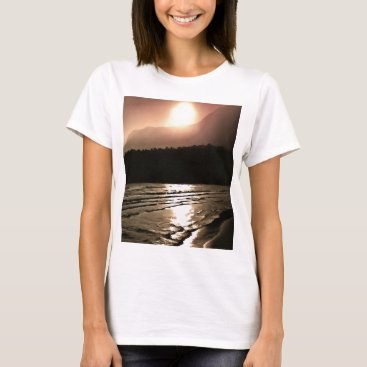 Beach Themed Overwhelming Waves of Sadness T-Shirt