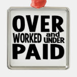 Overworked ornament, customizable