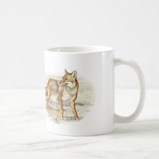 ovetous coyote coffee mug