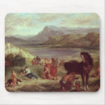 Ovid among the Scythians, 1859 Mouse Pad