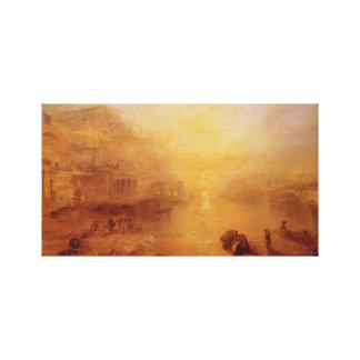 Ovid Banished de Roma Impresión De Lienzo