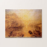 Ovid banished from Rome -Joseph Turner - Old Italy Jigsaw Puzzles
