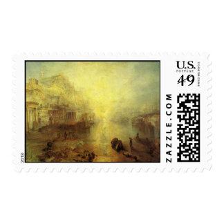 Ovid Banished from Rome Postage