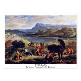 Ovid en Scythia Postales
