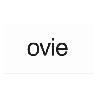 ovie.ai Double-Sided standard business cards (Pack of 100)