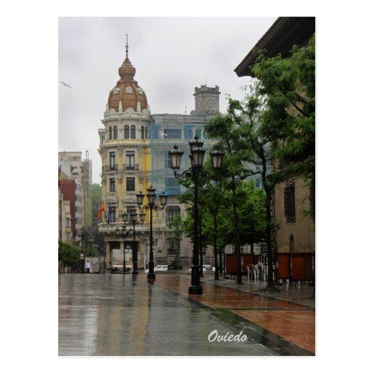 Oviedo, Asturias postcard