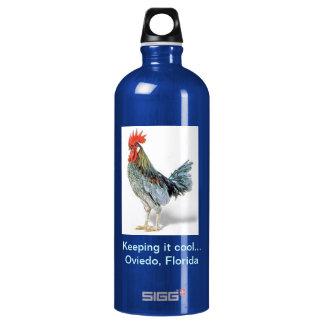 Oviedo Chicken Patriot Blue Aluminum Water Bottle