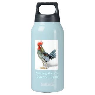 Oviedo Chicken Patriot Blue Insulated Water Bottle