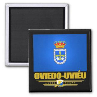 Oviedo-Uvieu 2 Inch Square Magnet