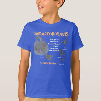 Oviraptor My Inner Dinosaur Kids Shirt Greg Paul