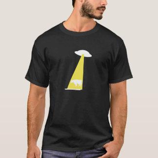 OVNI Abdução de gado T-Shirt