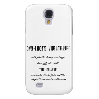 Ovo Lacto Vegetarian Galaxy S4 Covers