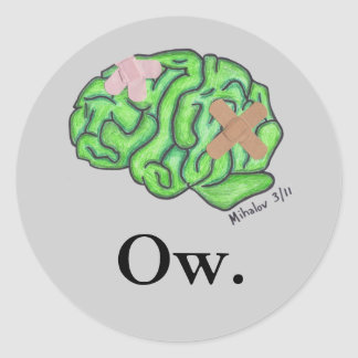 """""""Ow"""" stickers"""