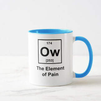 Ow, The Element of Pain Mug