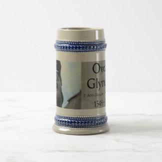Owain Glyndŵr Day Beer Mug