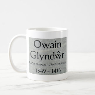 Owain Glyndwr Legend Coffee Mugs