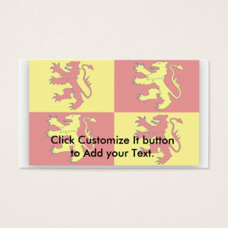 Owain Glyndwr, United Kingdom flag Business Card