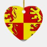Owain Glyndwr, United Kingdom flag Christmas Ornaments