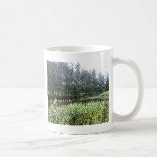 Owain Glyndŵr's Fishpond at Sycharth Castle Coffee Mug