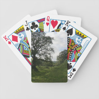 Owain Glyndŵr's Sycharth Castle, in Powys, Wales Bicycle Playing Cards
