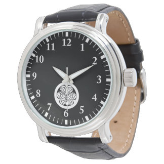 Owari hollyhock(13) wrist watch