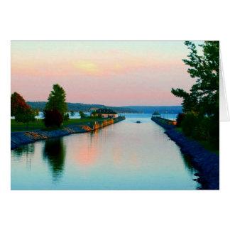 Owasco Lake Greeting Card