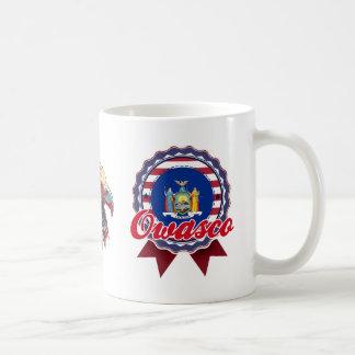 Owasco, NY Classic White Coffee Mug