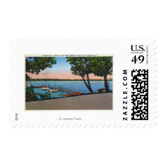 Owasco Yacht Club View of Owasco Lake Postage