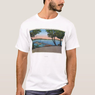 Owasco Yacht Club View of Owasco Lake T-Shirt