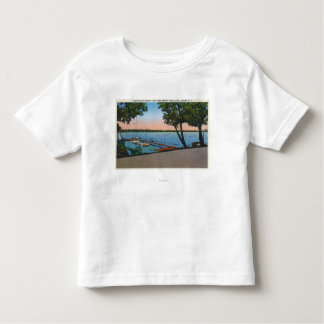 Owasco Yacht Club View of Owasco Lake Toddler T-shirt