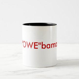 """""""OWE""""bama Two-Tone Coffee Mug"""