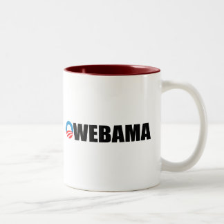OWE-BAMA Two-Tone COFFEE MUG