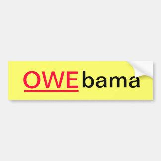 OWEbama Bumper Stickers