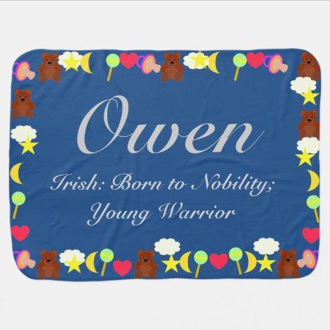 Owen Baby Blanket Template