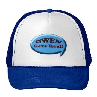 Owen Gets Real Trucker Hat