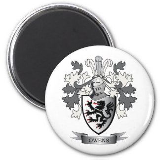 Owens Family Crest Coat of Arms Magnet