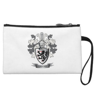 Owens Family Crest Coat of Arms Wristlet