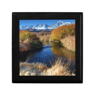 Owens River And Eastern Sierra Nevada Mountains Gift Box